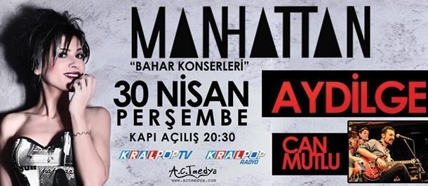 Ankara - Manhattan Bahar Konserleri