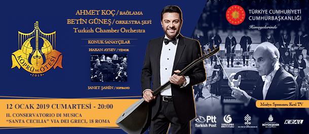 Il Conservatorio Di Musica / Roma  12 Ocak 2019