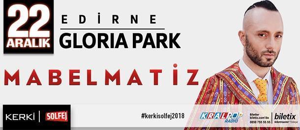 Edirne Gloria Park 22 Aralık 2018