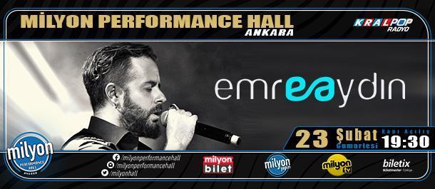 Milyon Performance Hall / Ankara 23 Şubat 2019