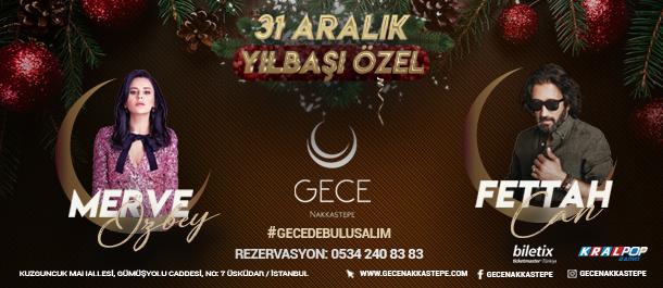 Gece Nakkaştepe 31 Aralık 2018