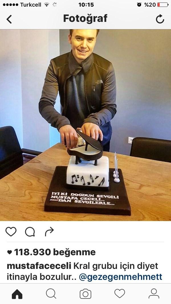 Sanatçıların Doğum Günü Pastaları