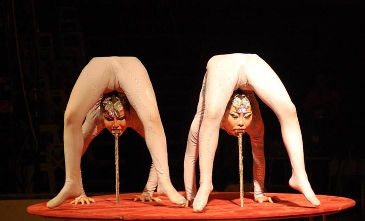 Цирковое порно фото #4
