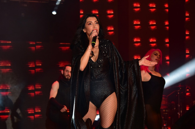 Hande Yener Didim'de Konser Verdi