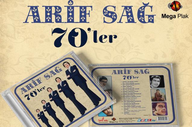 Arif Sağ 45'lik Plaklarını 70'ler Albümünde Topladı!