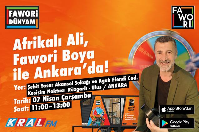 Afrikalı Ali Ankara'da