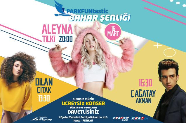 PARKFUNtastic'te Aleyna Tilki ve Çağatay Akman Rüzgarı…