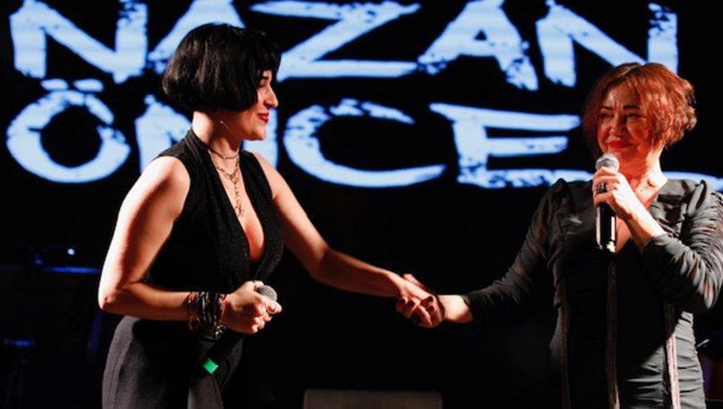 Nazan Öncel Sahnede Gonca Vuslateri ile Düet Yaptı
