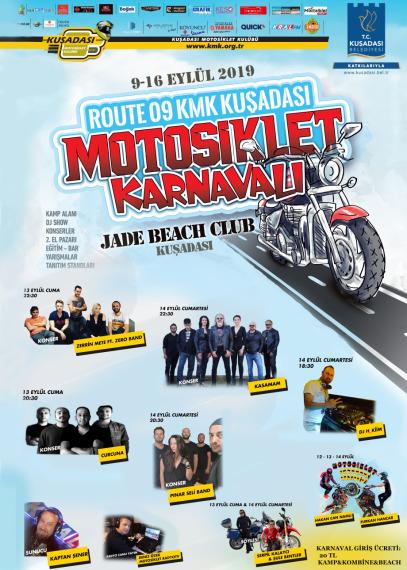 Motorsiklet Karnavalı 9-16 Eylül'de Kuşadası'nda...