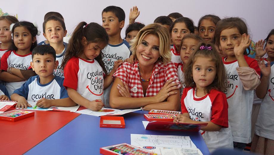 39'uncu Anaokulunu Diyarbakır 'da Açtı !