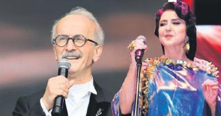 Yeditepe Konserleri Kapsamında Sami Özer ve Melihat Gülses Sahneye Çıktı