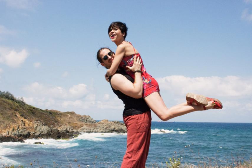 Kumsalda Aşk Dansı