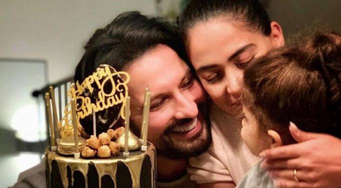 Tarkan Doğum Gününü Eşi ve Kızıyla Kutladı!