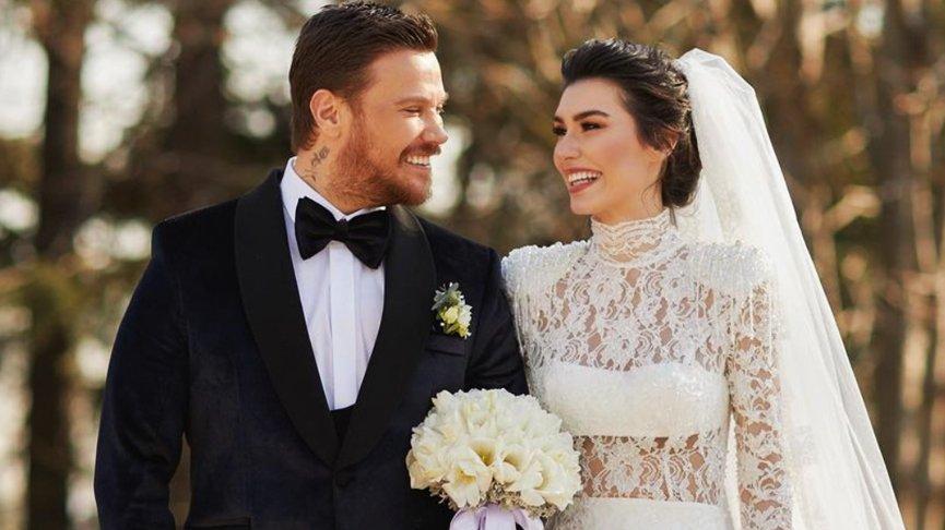 Sinan Akçıl ve Burcu Kıratlı İkinci Kez Evlendi!