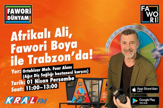 Afrikalı Ali Trabzonda!