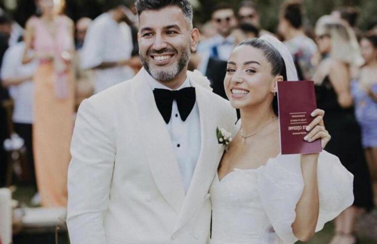 Zeynep Bastık ile Tolga Akış Evlendi