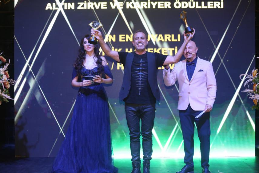 Altın Zirve ve Karıyer Ödülleri Sahiplerini Buldu